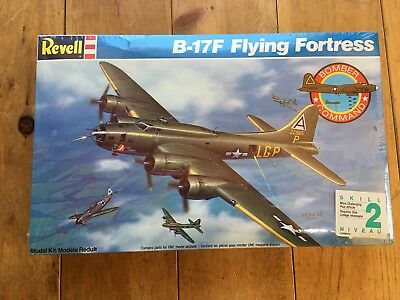 REVELL B-17F FLYING FORTRESS BOMBER 1:72 Scale MODEL KIT BRAND NEW Sealed 1989