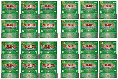 24 Pack Pumice Heavy Duty Scouring Stick/Stone Household Toilet Sink Cleaner