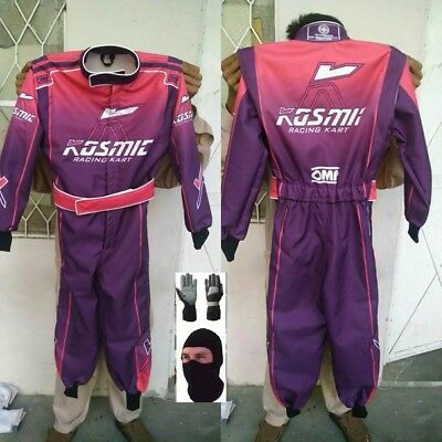 Kosmic Printed CIK FIA Approved Suit with free gift Gloves & Balaclava