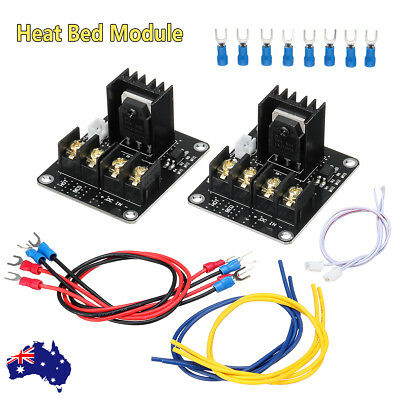 AU 2X MOSFET Board Upgrade 3D Printer Heated Bed Power Module i3 Kit For ANET A8