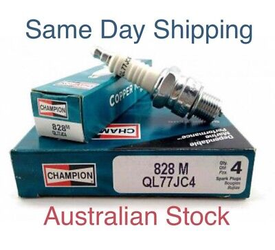 Spark Plugs Champion QL77JC4 Pack Of 2 Marine Outboard Johnson Evinrude