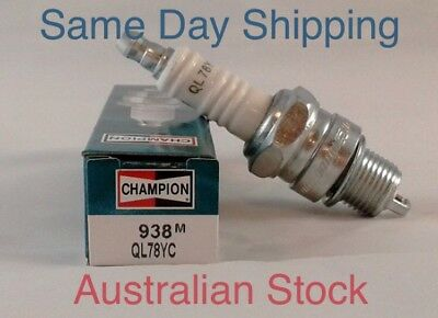 Spark Plugs Champion QL78YC  Pack Of 2 Marine Outboard Johnson Evinrude