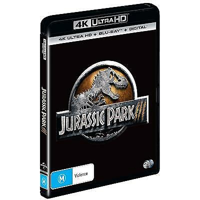 Jurassic Park III (4K Ultra HD/ Blu-Ray) (Region B) New Release