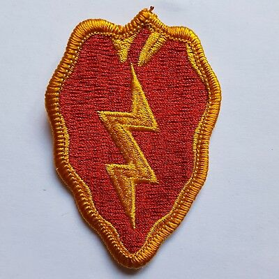 U.s. Army Aufnäher Patch 25Th Infantry Division Color Neu Original