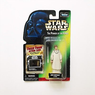 Star Wars Figure Mon Mothma Power Of The Force Vintage