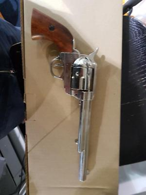 Colt Peacemaker With Wooden Handle Nickel 1869