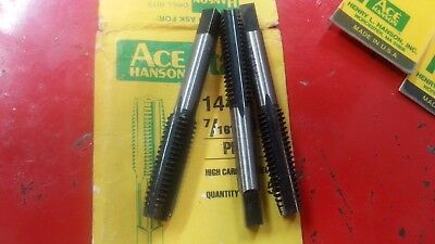 ACE HANSON TAP 7/16-14 New From Factory Package Single Tap No Package USA