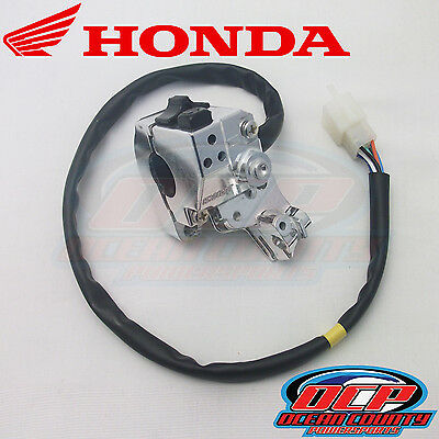New Genuine Honda 2003 - 2016 Ruckus 50 Nps50 Oem Light & Engine Start Switch
