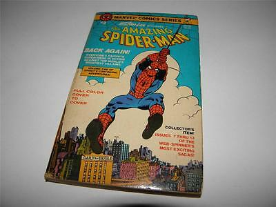 1978 THE AMAZING SPIDER-MAN Pocket Book Color COLLECTOR'S ITEM Issue 7-13