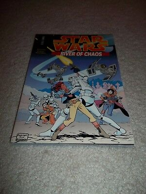 Star Wars River Of Chaos Graphic Novel TPB, 1996, 128 Pages, Combine Postage