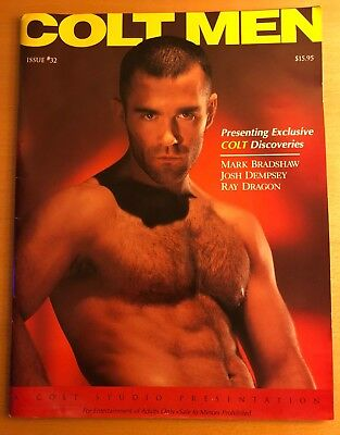 Classic Colt Men Gay Magazine From Colt Studios 1997 Gay Interest