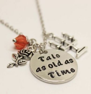 Tale As Old As Time Charms Pendant Necklace Belle Beauty And The Beast Collector