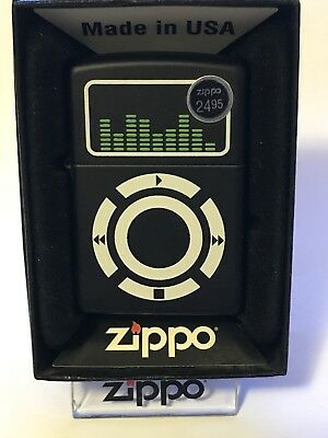 Zippo Music Pocket Lighter K-10