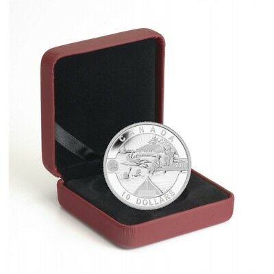 2013 $10 Canadian Summer Fun 1/2oz Fine Silver Proof Coin