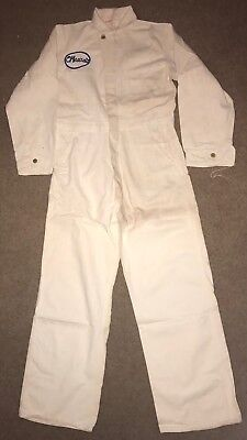 Amazing Vintage O'mearas Coveralls Union Made Universal Chicago Size 38 Mechanic