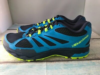 new york 472a6 8a9bf KARRIMOR TEMPO 5 Mens Trail Running Shoes Size 8.5 (euro 42.5)