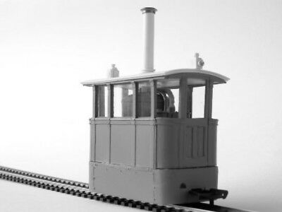 On30 7mm 'Zeus' model of Alford & Sutton Tramway No. 1 Smallbrook studio - P3
