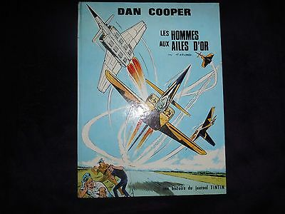 DAN COOPER-BD-Les hommes aux ailes d'or-EO-Weinberg Albert-09/1970-Ed.Lombard.