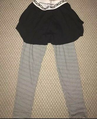 Vintage Chego Leggings With Skirt - Size 14