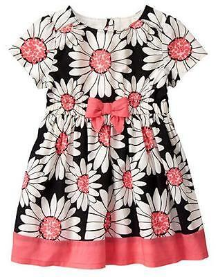 NWT Gymboree Kitty in Pink Daisy Dress 12 18M 2t,3T,4T,5T  Toddler Girls