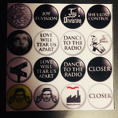 Joy Division Fridge Magnet