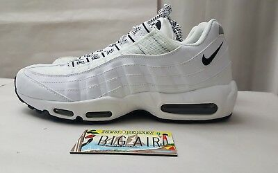 new product a942a 108aa ... amazon nike air max 95 white black oreo 609048 109 size 11.5 1a645 926ae