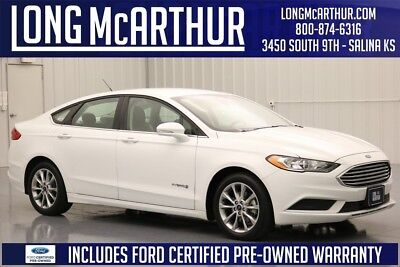 Ford Fusion SE 2017 SE Used Certified 2L I4 16V LCD Automatic FWD Sedan