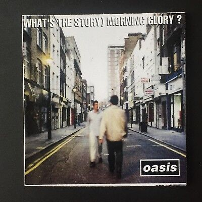 Oasis What's The Story Morning Glory Fridge Magnet