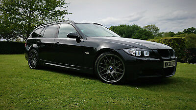 BMW 335D M-SPORT Touring (e91) STAGE 3: Hybrid Turbos / Wagner / 400bhp+