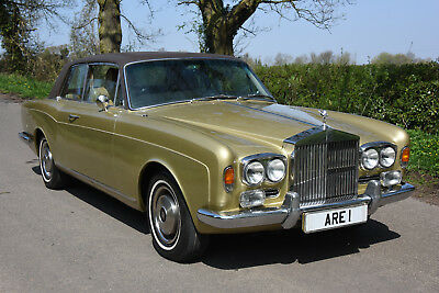1973 ROLLS ROYCE CORNICHE COUPE  FHC Low Mileage with History from New!