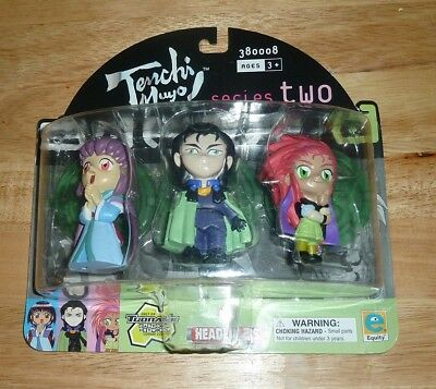 tenchi muyo headliners series two figures 2001 nib new cartoon