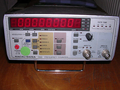 Racal Dana 1998 Frequency Counter Ex Mod Surplus Tested V Good Working Order