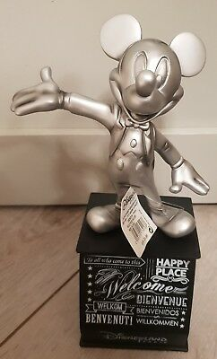 FIG DLP / Figurine Disneyland Paris MICKEY WELCOME / Bienvenue