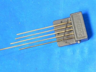 """Vintage Original Tempus Fugit Wall Clack Made in Germany 5 Rod 7-3/8"""" Chime"""