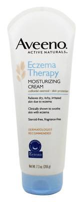 Aveeno - Active Naturals Eczema Therapy Moisturizing Cream Fragrance-Free - 7.3