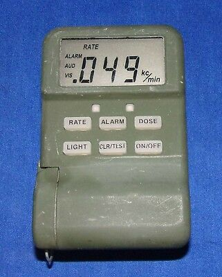 Canberra Model 00-2000-1.0 Pocket Radiac GM Pancake Probe Geiger Radiation