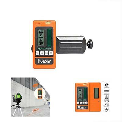 LR510 Laser Detector - Green Beam Receiver Use Pulsing Line Lasers, Two-Sided