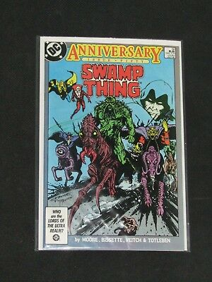 Swamp Thing #50/DC Comic Book/1st Full Justice League Dark/VF