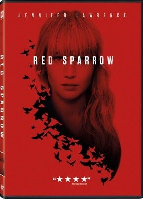 Red Sparrow (DVD 2018)NEW* Thriller, Mystery* PRE-ORDER SHIPS ON 05/22/18 📦