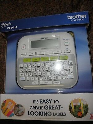 Brother PT-D210 Electronic Labeling System Label Maker **PRIORITY SHIPPING**
