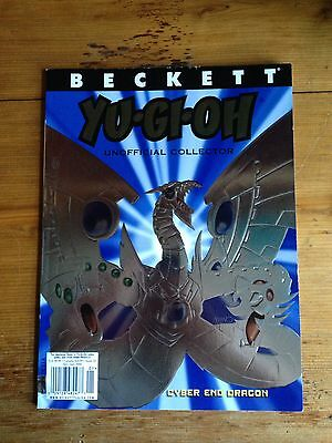 Beckett Yu Gi Oh Unofficial Collector Cyber End Dragon No. 21 2006