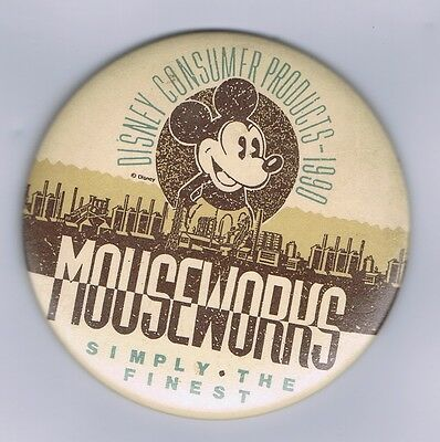 Disney Consumer Products - 1990 - Mickey Mouse Mouseworks Promotional Pin