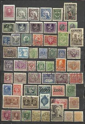 Q527-Lote Stamps Ancient Classics Countries Europe Without Price,