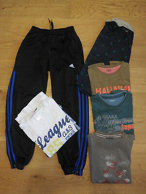 Lot 6 Vetements Garcon 10 Ans Lcdp, Adidas, Nky,...