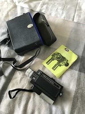 Vintage Boots Compact 3000 Power Zoom Cine Camera With Case