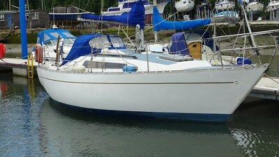 Cobra 750 25ft Sailing Yacht fin keel 1979