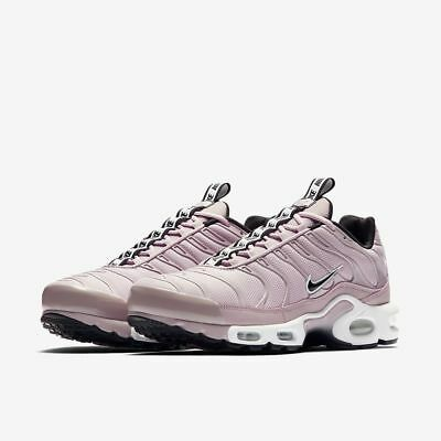 NIKE AIR MAX Plus SE TN Tuned 1 Taped Pull Particle Rose Pink Black AQ4128 600