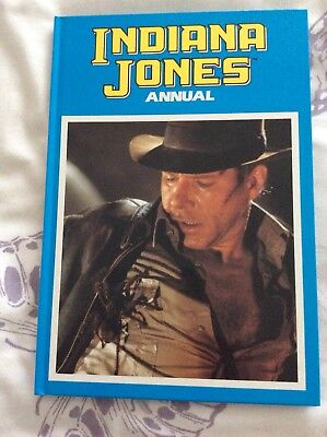 Indiana Jones Annual From 1989, Nr Mint