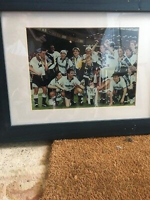 Tottenham Hotspur 1991 Fa Cup Winners Photo