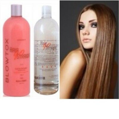PROMO Lissage Brésilien HAIR GO STRAIGHT BLOWTOX  2 x 100ml